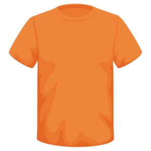 Catch Long Sleeve Orange T-shirt