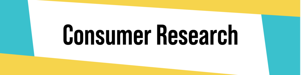 Consumer Research Banner